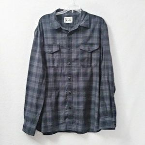 5/$25 Converse One Star Button Up Top